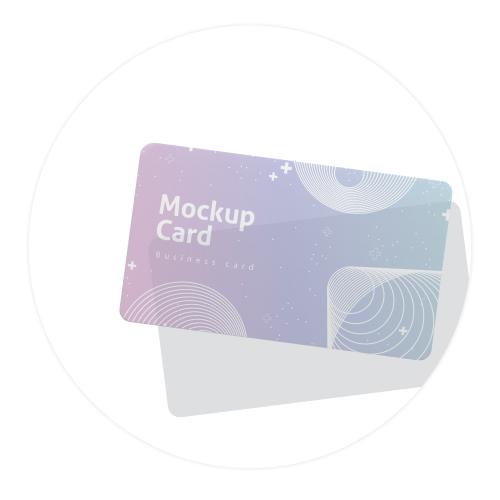 สั่งพิมพ์บัตรพลาสติกการ์ดผิวโปร่งแสง